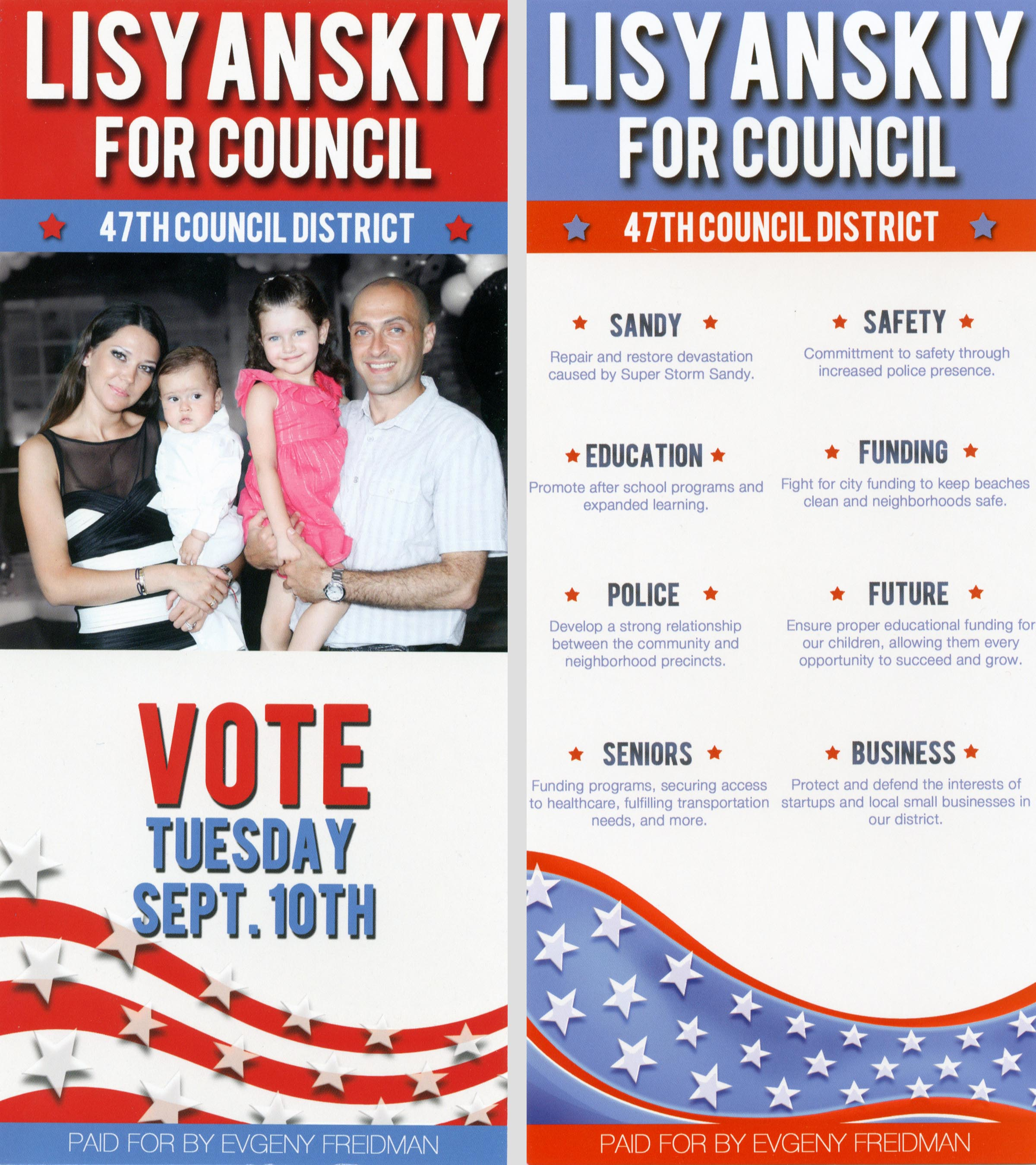 independent expenditure search new york city campaign finance board ie campaign literature leaflet flyer